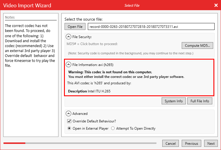 5 tools to determine the codecs required to play downloaded movies.